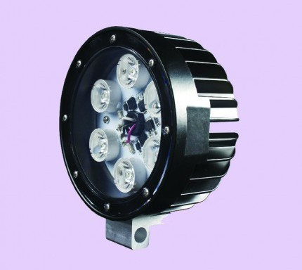 LED Worklight for Track Vehicles